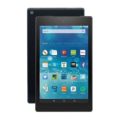 "Fire HD 8 Tablet, 8"" HD Display, Wi-Fi, 8 GB - Includes Special Offers, Black"