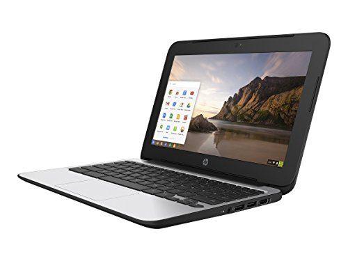 HP Chromebook 11 G4 11.6 Inch Laptop (Intel N2840 Dual-Core, 2GB RAM, 16GB Flash SSD, Chrome OS), Black
