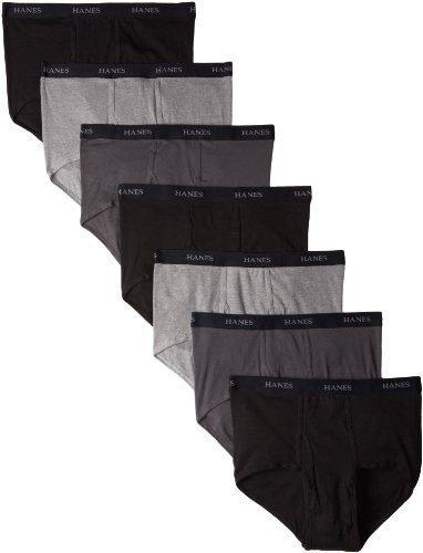 Hanes Men's 7-Pack Ultimate Full-Cut Briefs