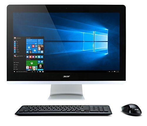 Acer Aspire AIO Desktop, 23.8-inch Full HD, Core i5-6400T, NVIDIA 940M, 8GB DDR4, 1TB HDD, Win10, AZ3-715-UR61