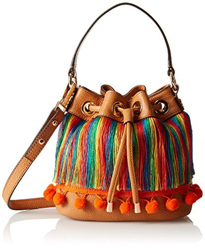 MILLY Pom Sm Drawstring Cross Body Bag