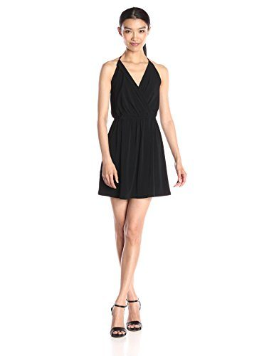 BCBGeneration Women's Surplice Halter Dress