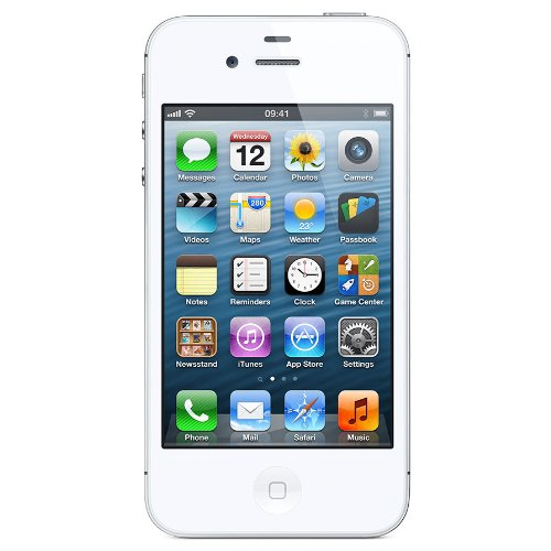 Apple iPhone 4S 16GB Unlocked – White (Certified Refurbished)