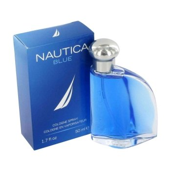 NAUTICA Blue Eau De Toilette Spray for Men, 3.4 Ounce