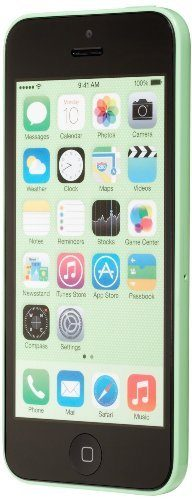 Apple iPhone 5C Green 32GB Unlocked GSM Smartphone (Certified Refurbished)