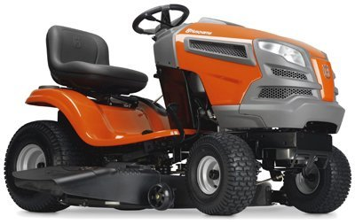 """Husqvarna 960430211 YTA18542 18.5 hp Fast Continuously Varilable Transmission Pedal Tractor Mower, 42"""""""
