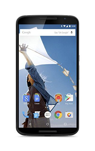 Motorola Nexus 6 Unlocked Cellphone, 32GB, Cloud White (U.S. Warranty) (Discontinued by Manufacturer)