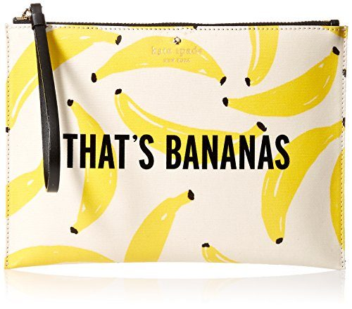 kate spade new york Flights Of Fancy Thats Bananas Medium Bella Pouch