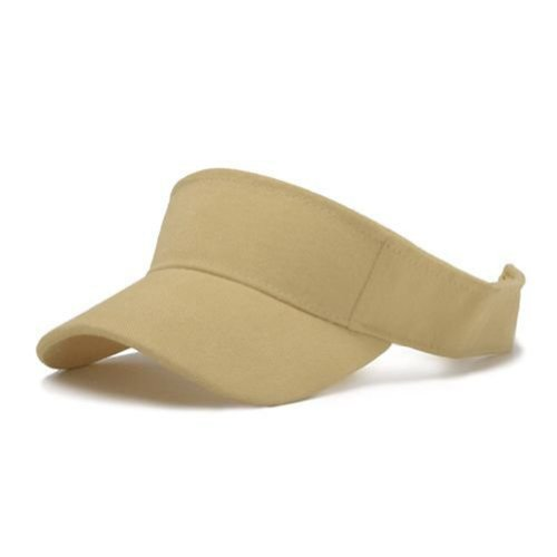 Solid Sports Blank Visor (Comes In Many Different Colors)