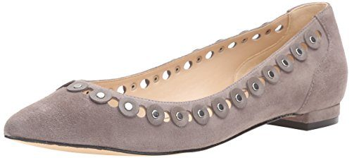 Nine West Women's Adaminia Suede Pointed Toe Flat