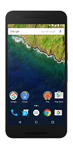 HUAWEI Nexus 6P 32GB Unlocked GSM 4G LTE Octa-Core Android (Marshmallow) Smartphone w/ 12.3MP Camera - Graphite Gray