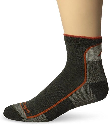 Darn Tough Vermont Men's 1/4 Merino Wool Cushion Hiking Socks