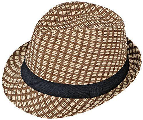 Simplicity® Men / Women Summer Short Brim Straw Fedora