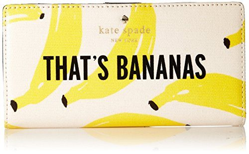 kate spade new york Flights Of Fancy Thats Bananas Stacy Wallet