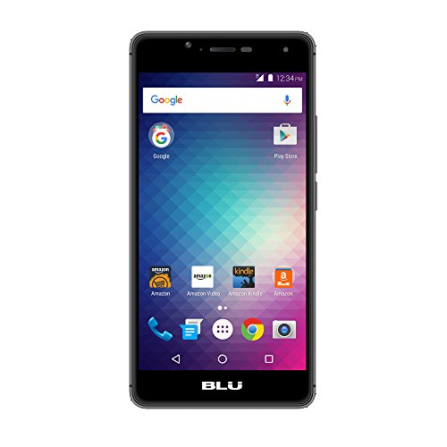 BLU R1 HD – 16 GB – Black – Prime Exclusive – with Lockscreen Offers & Ads