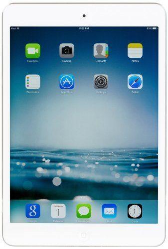 Apple iPad Mini 2 with Retina Display ME279LL/A (16GB, Wi-Fi, White with Silver) (Certified Refurbished)