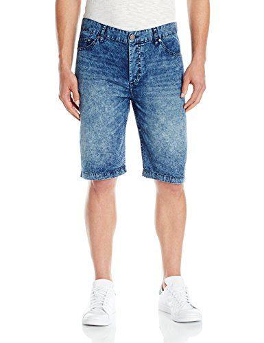Calvin Klein Jeans Men's Uneven Indigo Jean Short