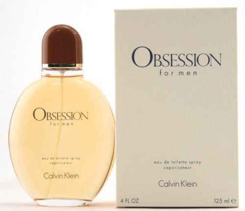 Calvin Klein Obsession eau de toilette Spray for Men, 4.0 Fluid Ounce / 125 ml