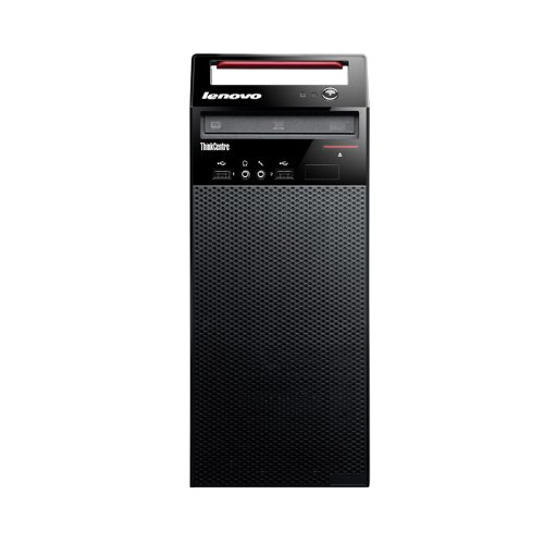 Lenovo 10AS00DFUS ThinkCentre E73 Tower Desktop, 4 GB RAM, 500 GB HDD, Intel HD Graphics 4600, Glossy Black