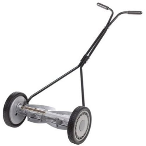 Great States 415-16 16-Inch Standard Full Feature Push Reel Lawn Mower With T-Style Handle And Heat Treated Blades