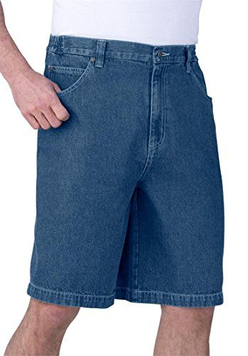 Liberty Blues Men's Big & Tall Denim 5-Pocket Shorts