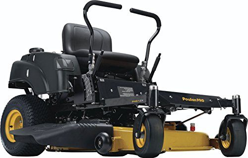 Poulan Pro 967330901 P46ZX Briggs V-Twin Pro 22 HP Cutting Deck Zero Turn Radius Riding Mower, 46-Inch