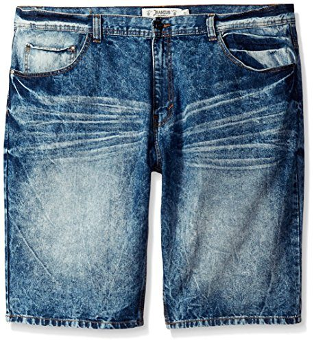 Akademiks Men's Big-Tall Danny Big and Tall Denim Short
