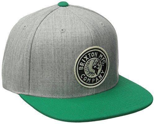Brixton Men's Rival Snapback Hat