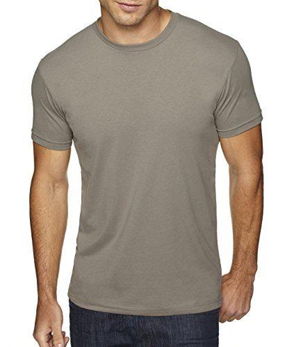 Next Level Apparel Men's Premium Fitted Sueded Crewneck T-Shirt