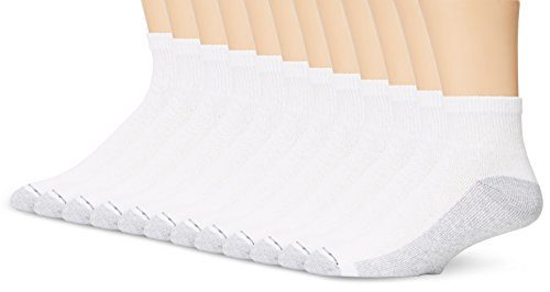 Hanes Men's Ankle Socks (Pack of 12)