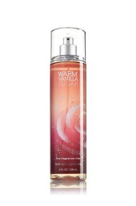 Bath and Body Works Fine Fragrance Mist Warm Vanilla Sugar 8.0 oz