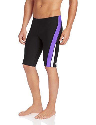 Speedo Men's Endurance+ Launch Splice Jammer Swimsuit