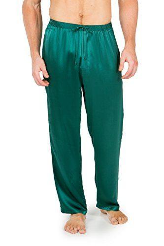 Men's 100% Silk Pajama Pants (Uomo) Eco-Friendly Gifts by TexereSilk