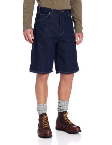 Dickies Men's Big 11 Inch Denim Carpenter Short