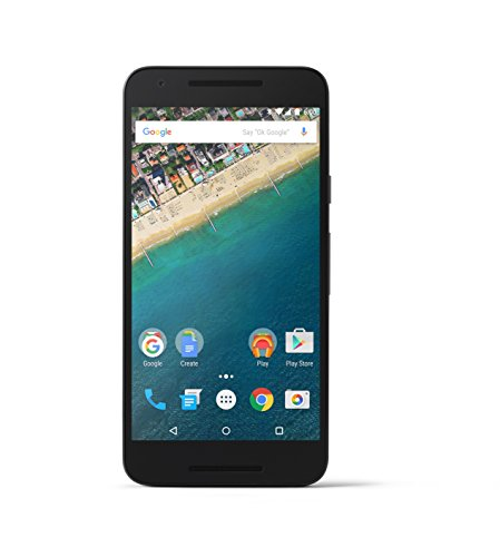 LG Nexus 5X Unlocked Smartphone – Black 32GB (US Warranty)