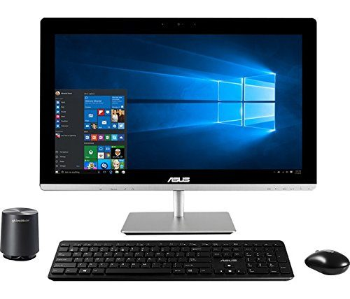 "2016 Newest Asus 23"" Full HD Touchscreen All-In-One Desktop PC, Intel Core i5-5200U processor, 8GB RAM, 2TB HDD, DVD+/-RW, WIFI, Webcam, HDMI, Bluetooth, Windows 8.1 / 10"