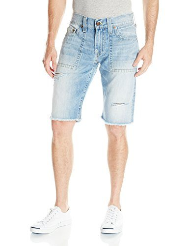 True Religion Men's Ricky Old School Relaxed Slim Short