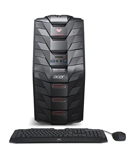 Acer Predator AG3-710-UR53 Gaming Desktop (6th Gen Intel Core i5, Windows 10, 8GB DDR4, NVIDIA GTX 950)