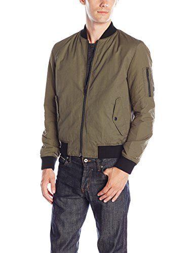 BOSS Orange Men's Reversible Ma1 Bomber Jacket