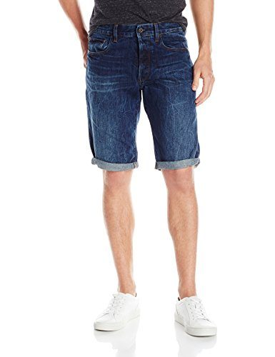 G-Star Raw Men's 3301 Tapered 1/2 Hadron Denim Short