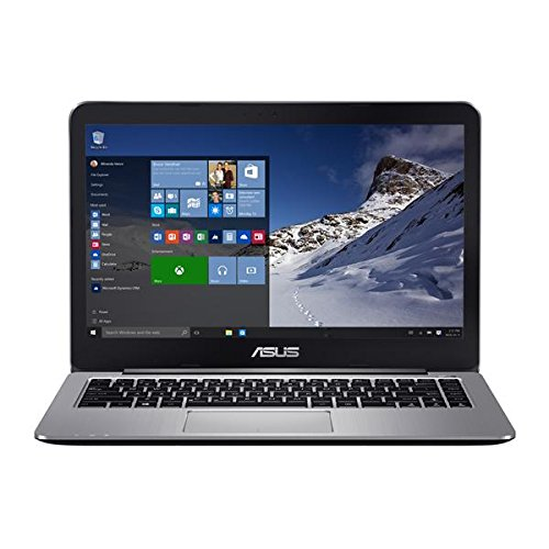 "ASUS VivoBook E403SA-US21 14"" FHD lightweight Laptop, Intel Quad Core 4GB RAM, 128GB eMMC, Win10, Hairline brushed Metal"