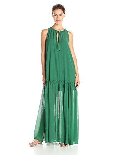 BCBGMax Azria Women's Galiana Sleeveless Maxi Dress