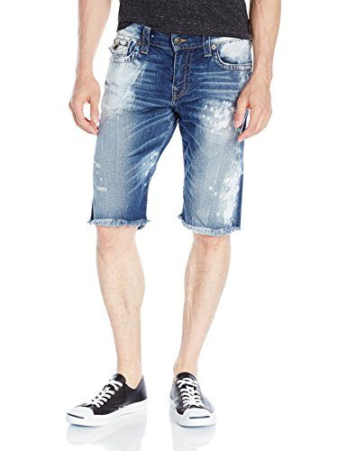 True Religion Men's Ricky Short Indigo Anthem