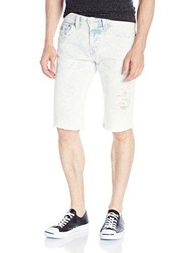 True Religion Men's Ricky Short in Worn Sunfaded