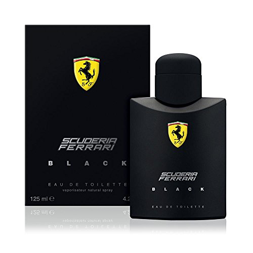 Ferrari Scuderia Black Eau De Toilette Spray For Men, 4.2 Ounce