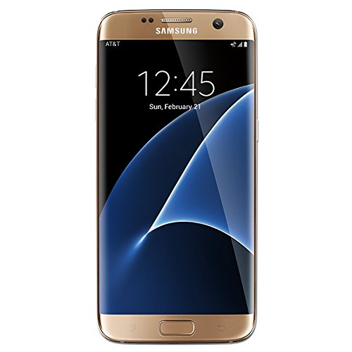 Samsung Galaxy S7 Edge Factory Unlocked Phone 32 GB - Internationally Sourced (Middle East/African/Asia) Version  G935FD- Platinum Gold