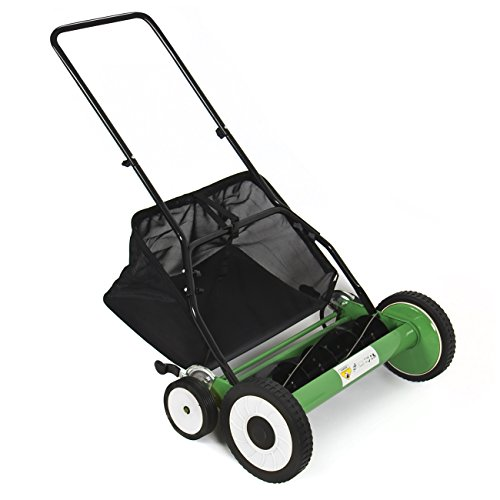 """Best Choice Products® Lawn Mower 20"""" Classic Hand Push Reel W/ Grass Catcher 6 Adjustable Height 20"""""""