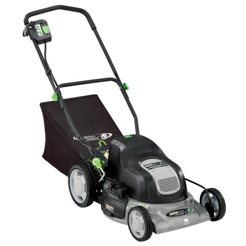 Earthwise 20-Inch 24-Volt Cordless Electric Lawn Mower, Model 60120