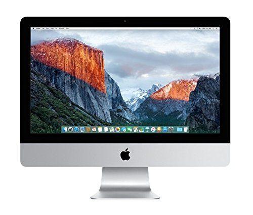Apple iMac MK452LL/A 21.5-Inch Retina 4K Display Desktop (3.1 GHz Intel Core i5 Quad-Core, 8GB RAM, 1TB HDD, Mac OS X), Silver (Newest Version)