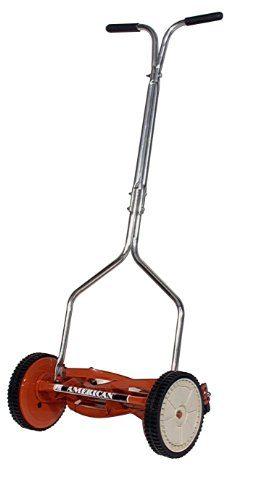 American Lawn Mower 1204-14 Hand Reel 14 Inch Push Lawn Mower